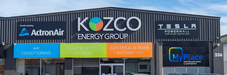 Kozco Energy Group Showroom